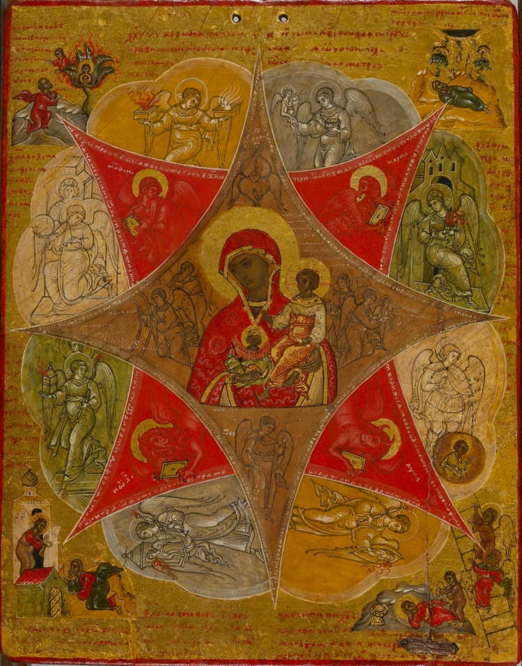 Russian_-_Presentation_of_the_Virgin_in_the_Temple_and_the_Virgin_of_the_Burning_Bush_-_Walters_372664_-_Back