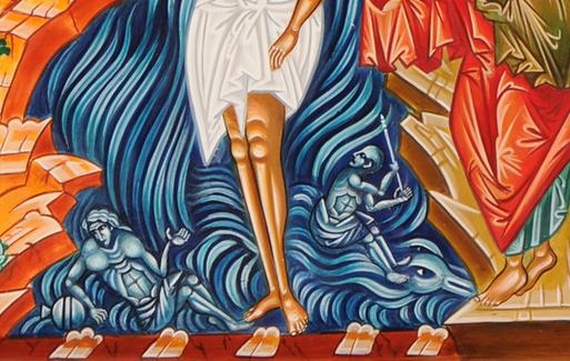 Baptism Icon 03 detail