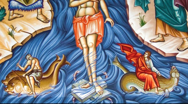 Baptism Icon 06 detail