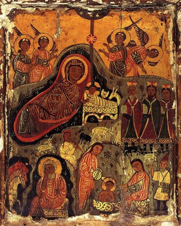 nativity icon at st catherines monastery