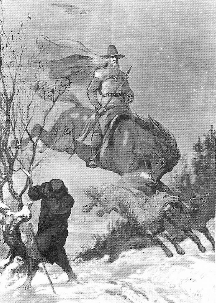 05_Y Odin's Hunt Malmström by august-malmstrom 1850s to 1901