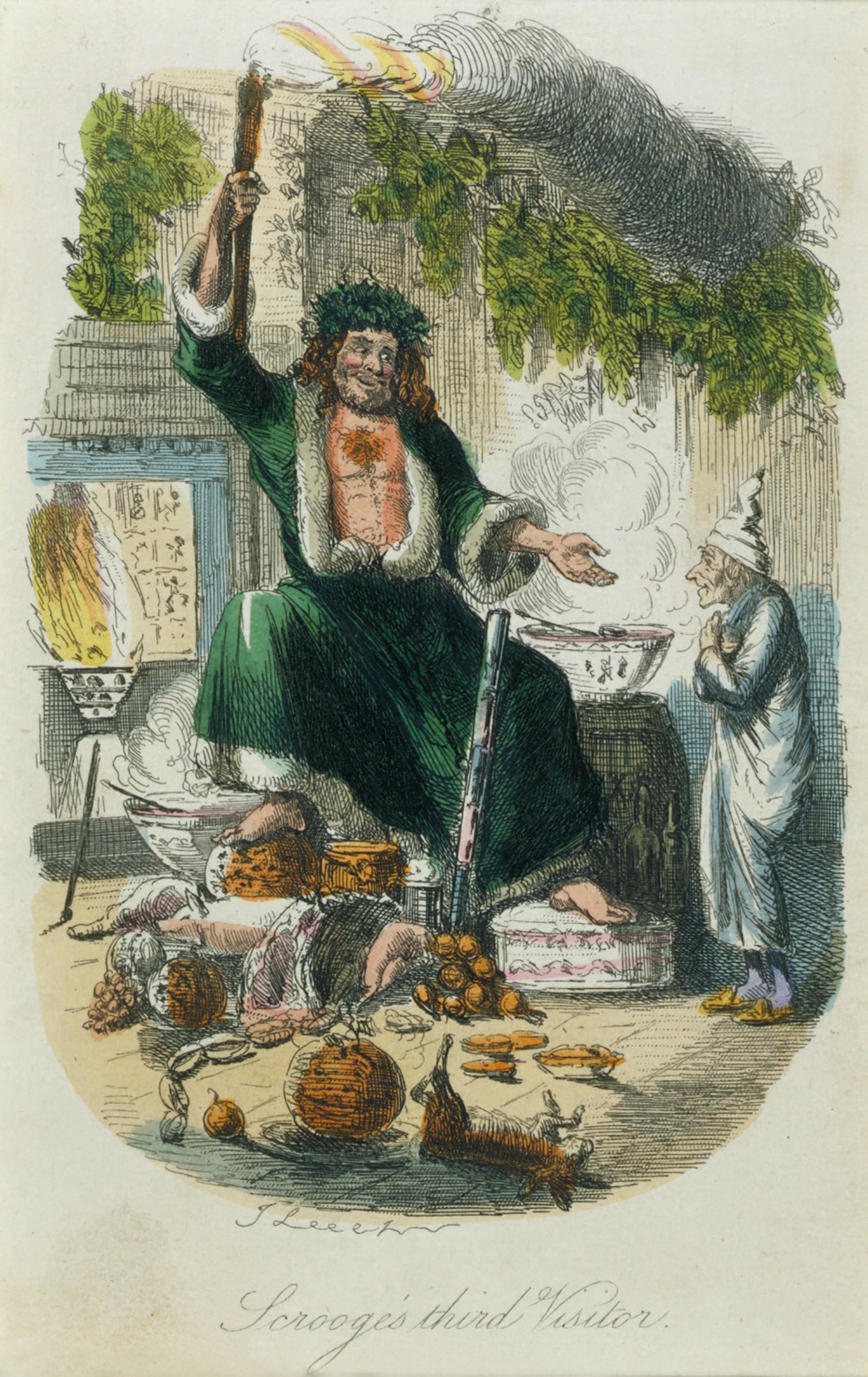 11_Y Dicken's christmas carole origional christmas present