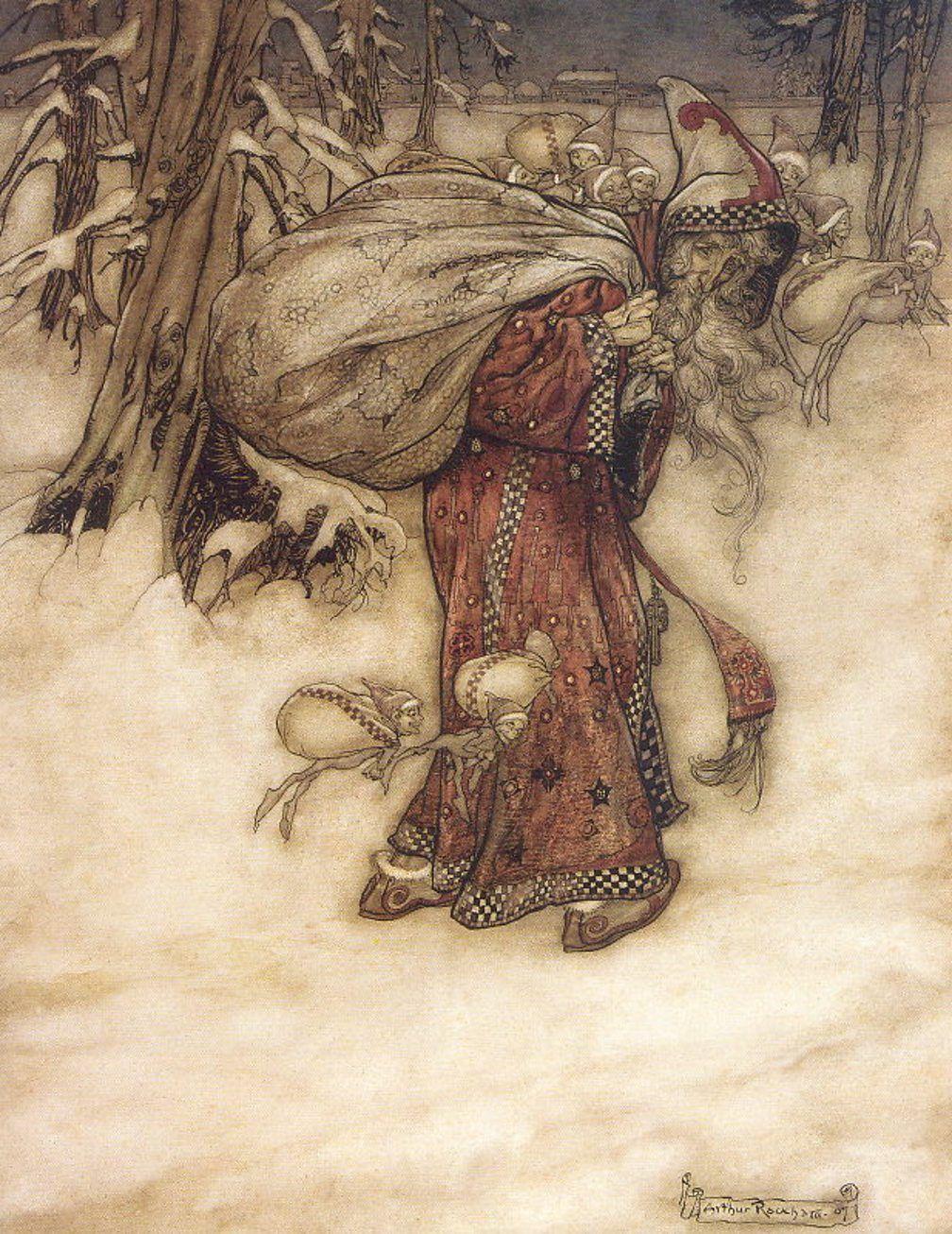 arthur-rackahm-father-christmas ca 1900