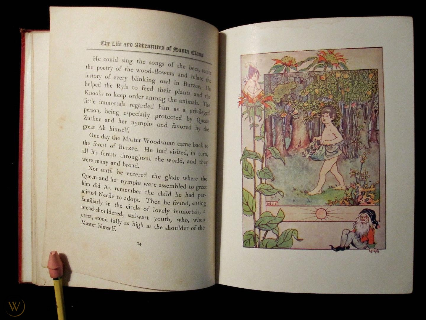 Baum The Life and Adventures of Santa Claus 1902 children book L Frank Baum illustrated Mary Cowles Clark 02