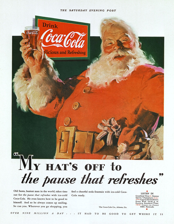 Coke Santa 1931 02