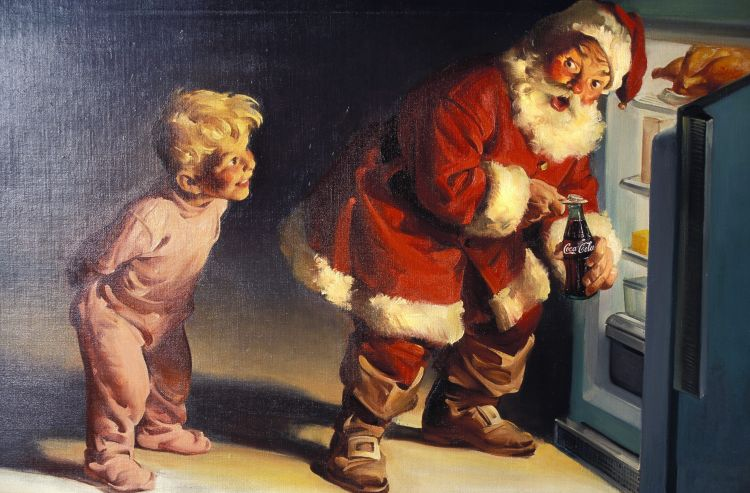 Coke Santa by Haddon Sundblom 1959 large 01