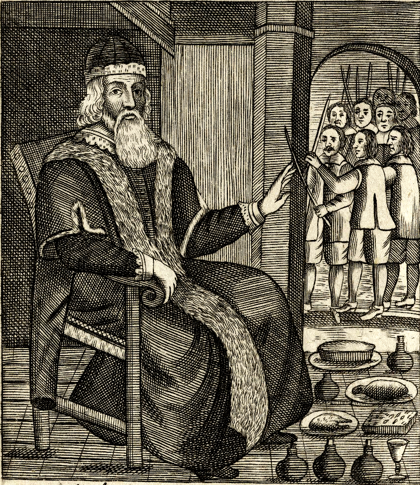 Father Christmas in Josiah King two pamphlets of 1658 and 1678