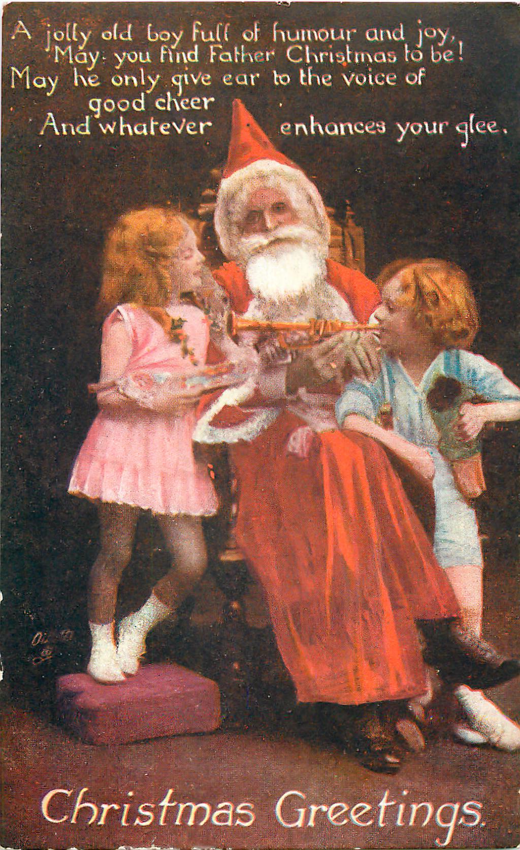 Father_Christmas_Tuck_Photo_Oilette_postcard 1919