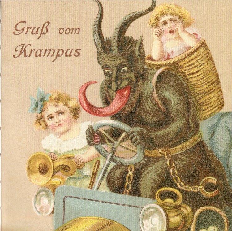 Krampus victorian xmas 02