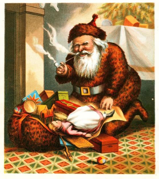 Nast Visit of Saint Nicholas by Thomas Nast 1869
