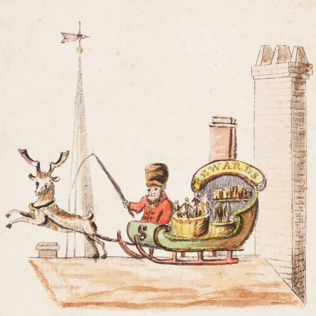Old Santeclaus with Much Delight 1821 page 1