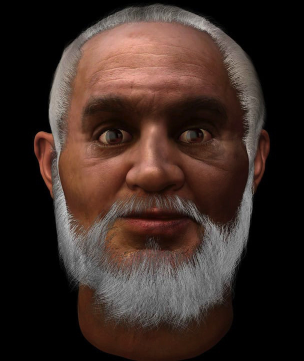 Reconstruction Image Foundry Studios produced a 3D Visualisation of the Real Face of St Nicholas