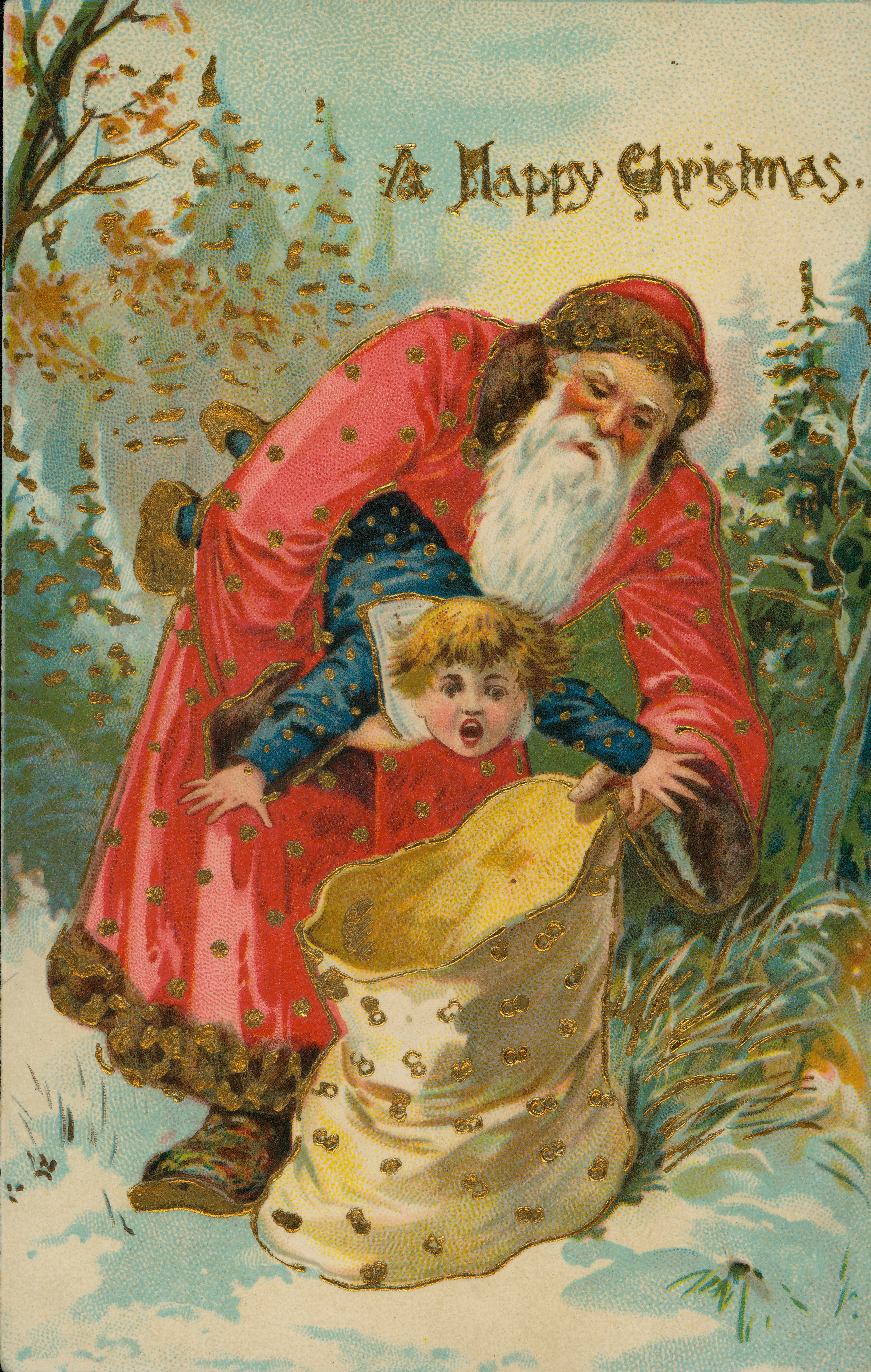 Santa Claus Missouri History Museum Photographs and Prints Collections c 1900