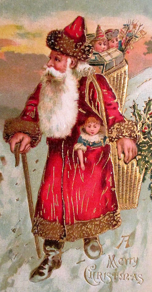 victorian father christmas