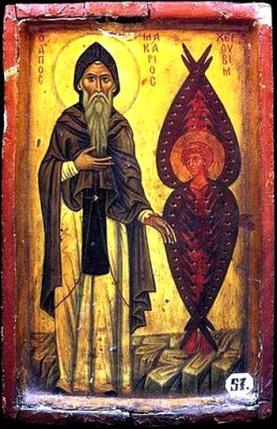 St_Macarius_the_Great_with_Cherub